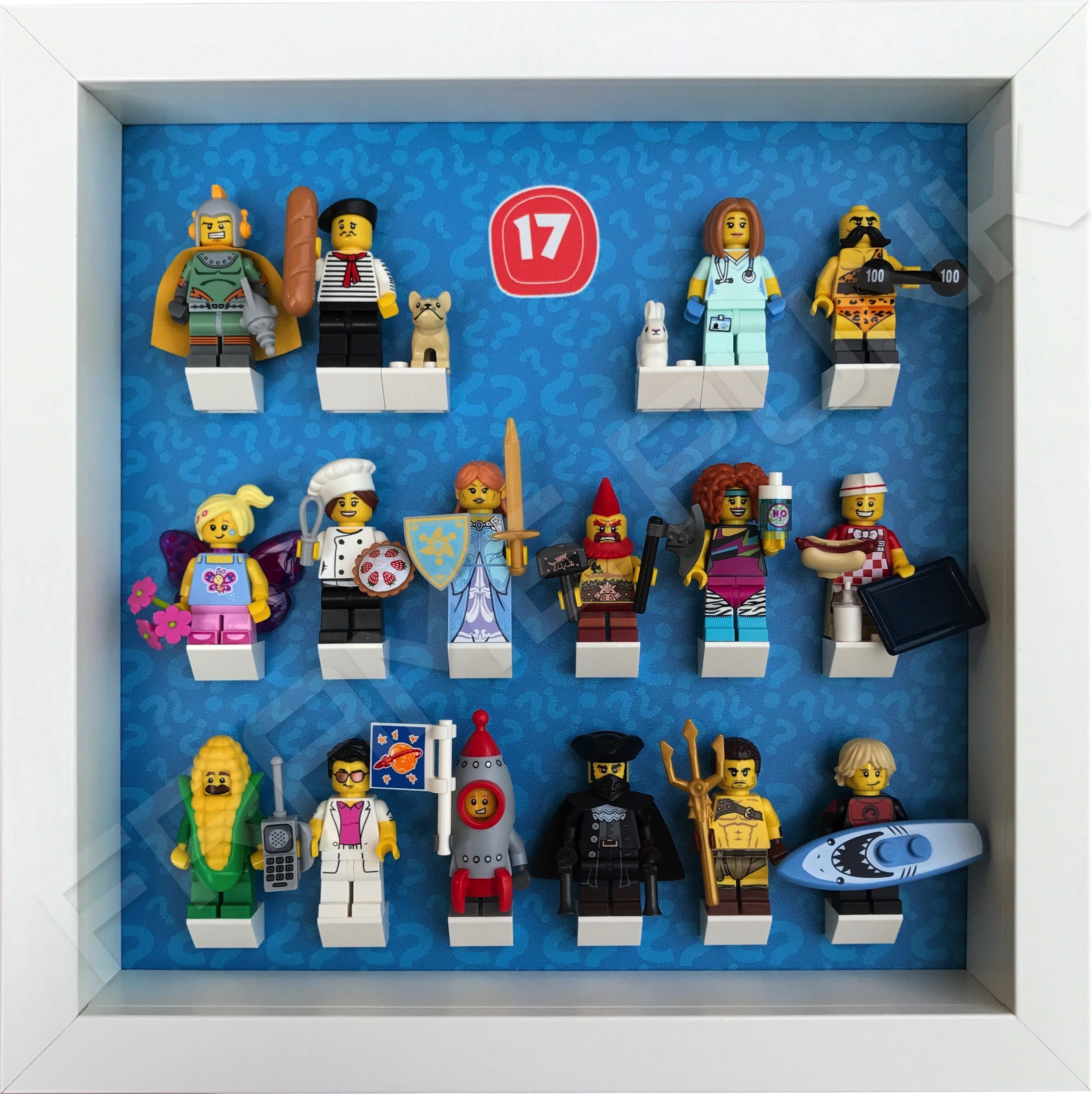 lego minifigures series 17 - HD 2856×2860