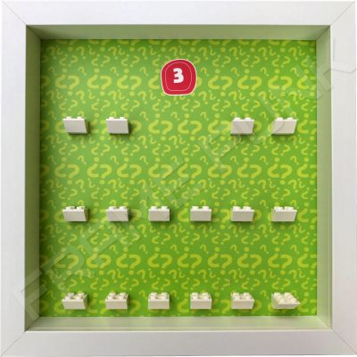 Lego minifigures series 3 display frame