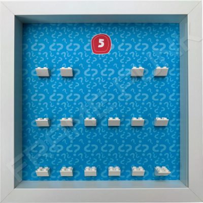 Lego minifigures series 5 display frame