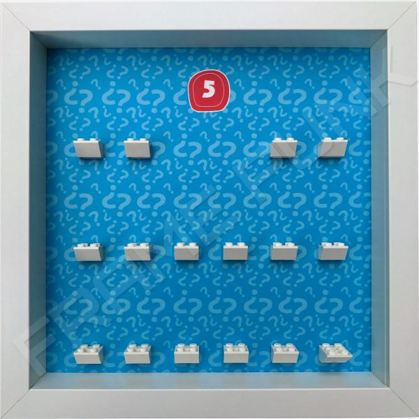 Lego minifigures series 5 display frame