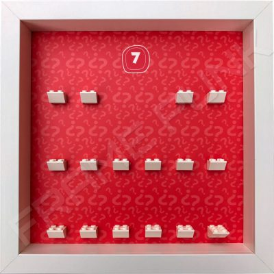 Lego minifigures series 7 display frame
