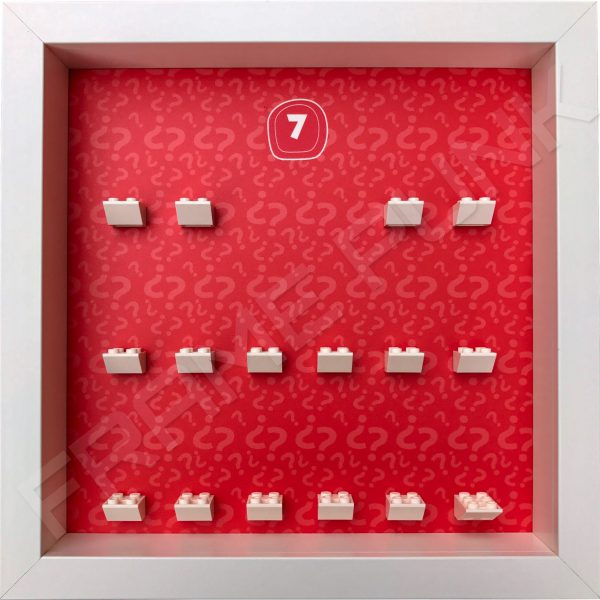 Lego minifigures series 7 display frame