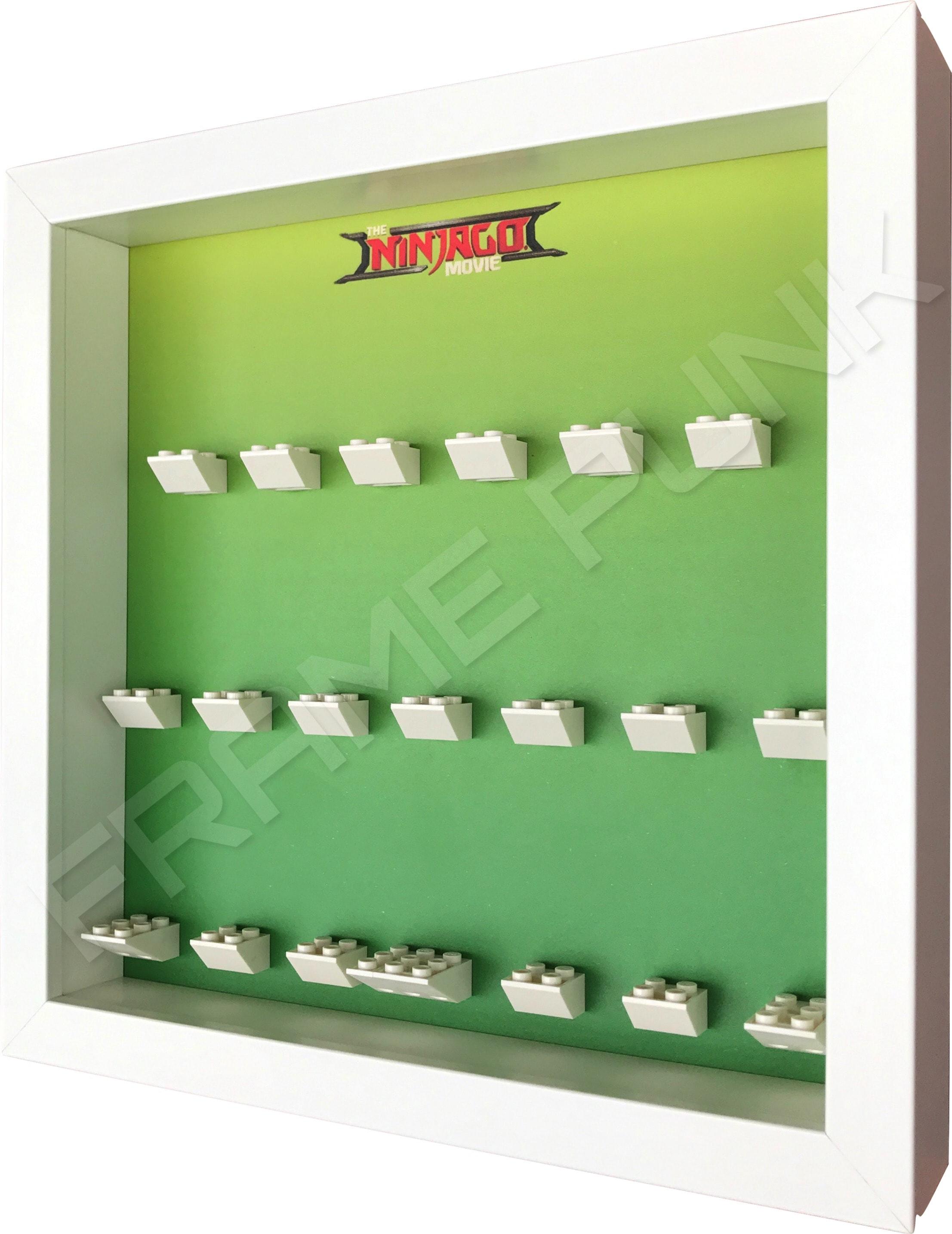 Ninjago Movie Minifigs Series frame (green) - Frame Punk