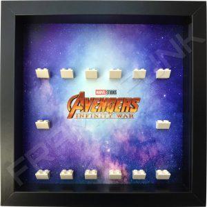 Avengers Infinity War Black Frame Lego Minifigure Display