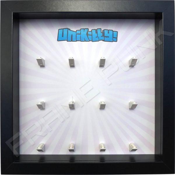 Unikitty Black Frame Lego Display