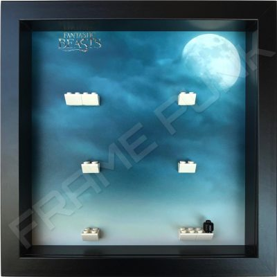 Fantastic Beasts Lego Minifigures Series Display Frame (Black)