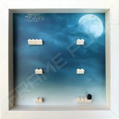 Fantastic Beasts Lego Minifigures Series Display Frame (White)
