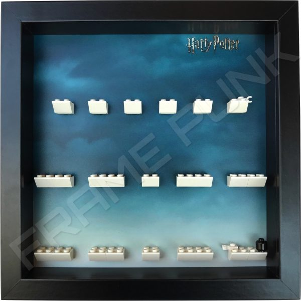 Harry Potter Lego Minifigures Series Display Frame (Black)