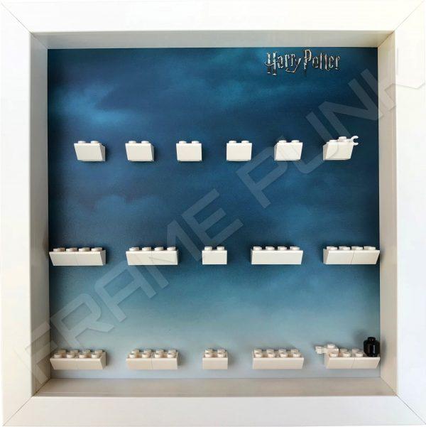 Harry Potter Lego Minifigures Series Display Frame (White)