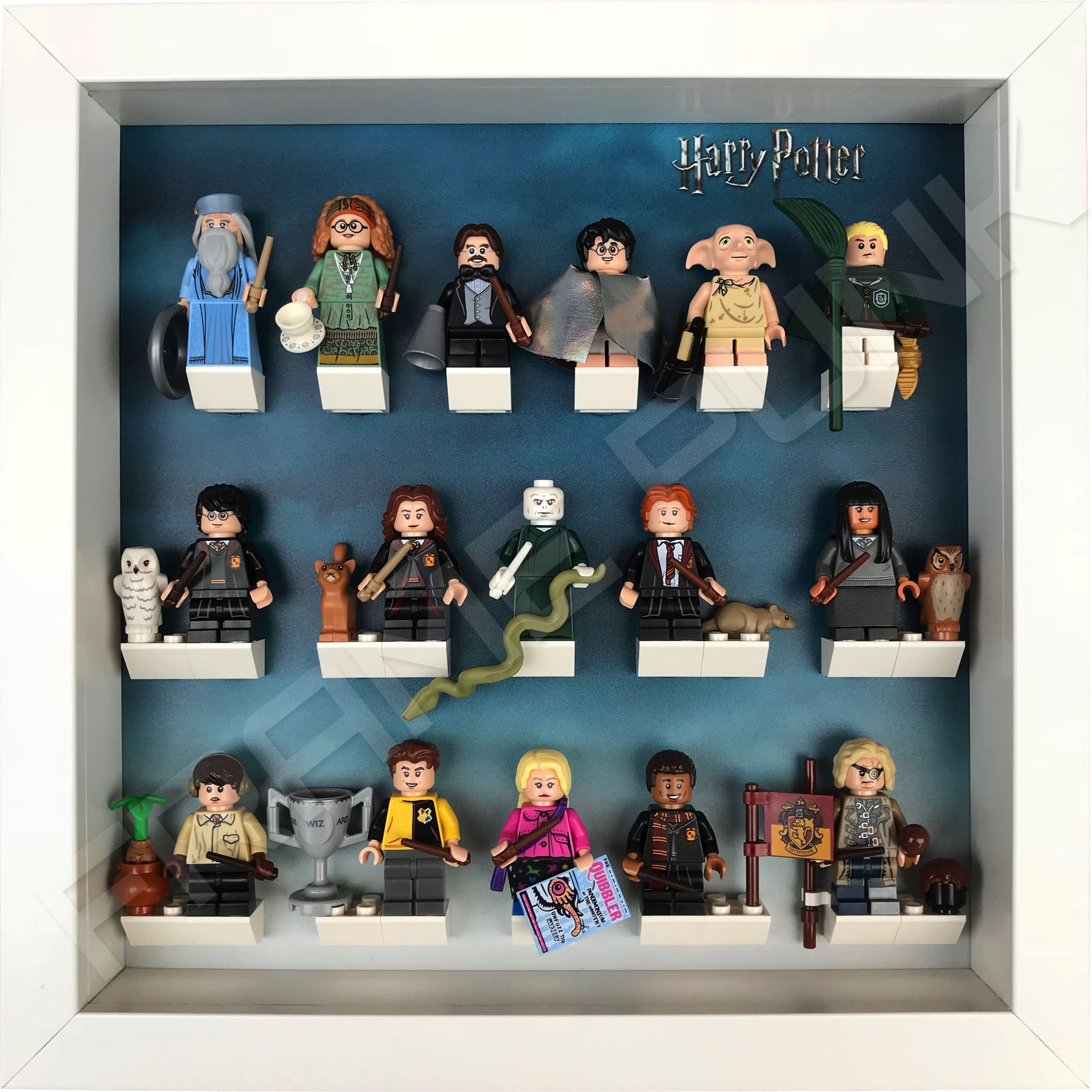 Harry Potter Lego Minifig Series Frame White Frame Punk