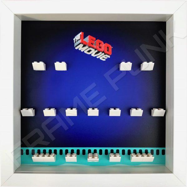 Lego Movie minifigure display frame (white)