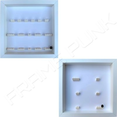 Harry Potter and Fantastic Beasts Lego Minifigures Series Display Frames (All White)