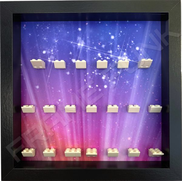 LEGO MOVIE 2 minifigure display frame (black)