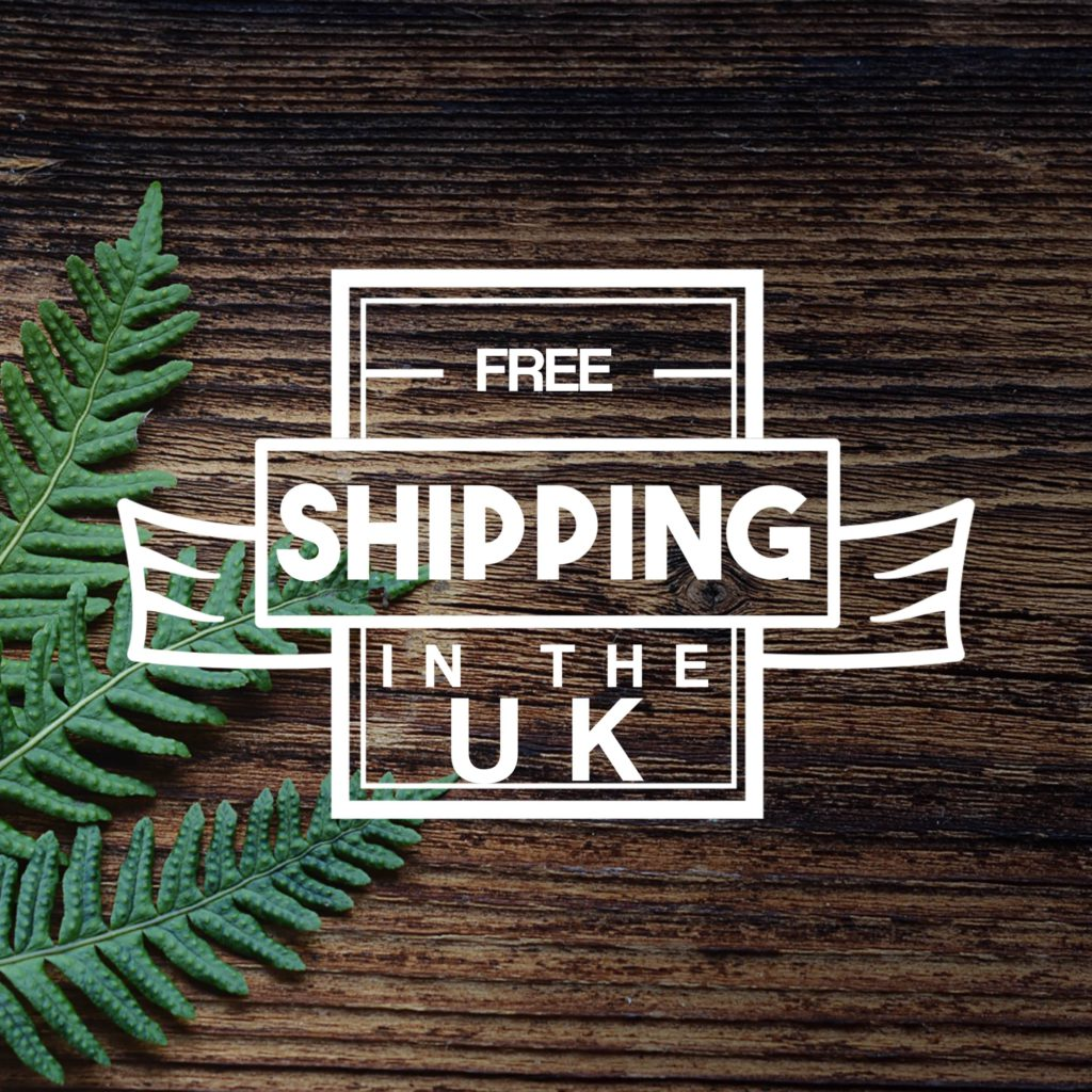 Free shipping sign for framepunk.co.uk
