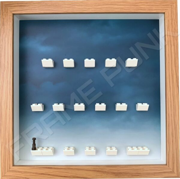 FRAMEPUNK Harry Potter Lego Minifigures Series 2 Display Frame (Oak)