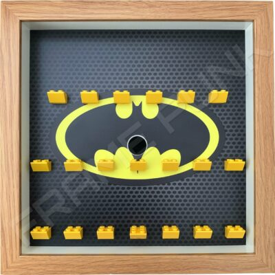FRAMEPUNK Batman Lego Minifigures Series Display Frame (Oak classic)