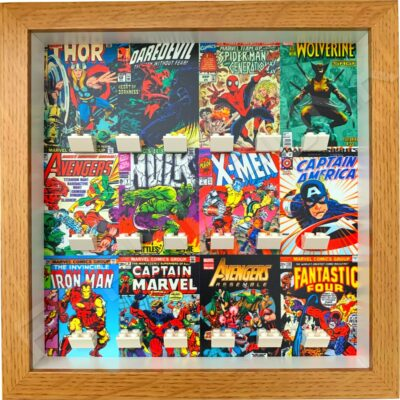 FRAMEPUNK Display Frame compatible with Lego MARVEL minifigures