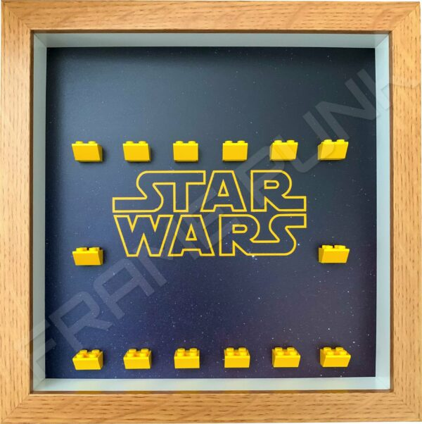 FRAMEPUNK Display Frame compatible with Lego Star Wars minifigures