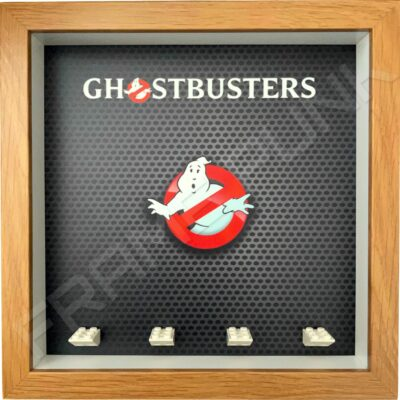 FRAMEPUNK display frame compatible with LEGO Ghostbusters minifigures