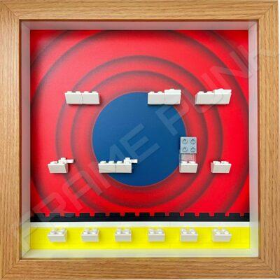 FRAMEPUNK LEGO Looney Tunes Minifigures Series 1 Display Frame (That's all folks!)