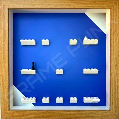 FRAMEPUNK LEGO MARVEL STUDIOS Minifigures Series Display Frame (blue shine)