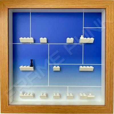 FRAMEPUNK LEGO MARVEL STUDIOS Minifigures Series Display Frame (comic fade)