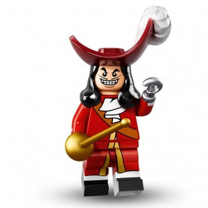 Lego Minifigure Captain Hook
