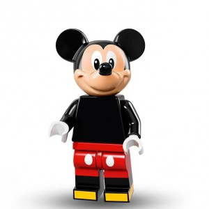 Lego Minifigure Mickey Mouse