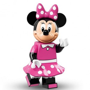 Lego Minifigure Minnie Mouse