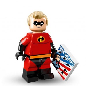 Lego Minifigure Mr. Incredible